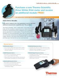 Purchase a new Thermo Scientific Orion VERSA STAR ... - Bartelt