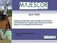Building shareholder value through the discovery - PrecisionIR