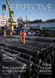 Port Capabilities in High Demand SPOTLIGHT ON INDIA Power ...