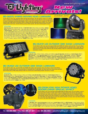 New Arrivals! - TEI Electronics Inc