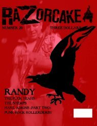 Razorcake Issue #20