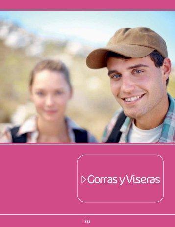 Catálogo Gorras