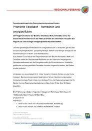 Prämierte Fassaden – formschön und energieeffizient - RM Austria