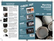 Marching Percussion Survival Guide by Jim Bailey - Evans ...