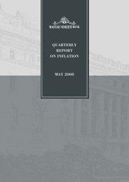 Quarterly Report on Inflation Magyar Nemzeti Bank May 2008 - EPA