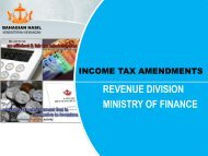 Income Tax Amendments 2008