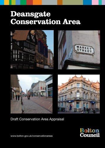 Deansgate Conservation Area - Bolton Metropolitan Borough Council