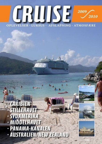 · CARIBIEN · STILLEHAVET · SYDAMERIKA ... - Seadane Travel