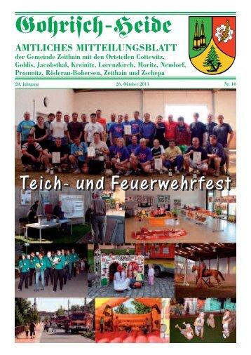 20.Jahrgang - Oktober Nr. 10 - Gemeinde Zeithain