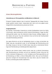 Beratungsflatrates - Rechtsanwälte Brennecke & Partner