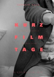 The International Short Film Festival Ober - Internationale ...