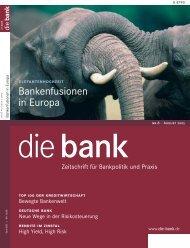 Die Bank - August 2005 - Klein & Coll.