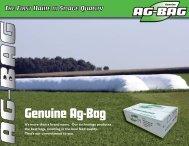 Genuine Ag-Bag - Ag-Bag Plastic