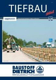 und Tiefbau. - Baustoff Dietrich GmbH & Co KG