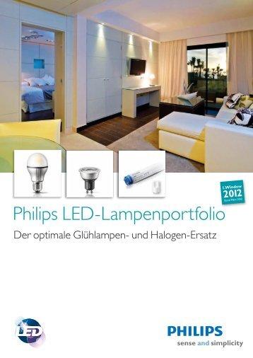 Philips LED-Lampenportfolio - Philips Lighting