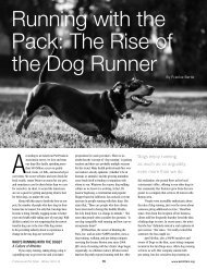Running with the Pack - National Association of Professional Pet ...