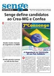 Senge define candidatos ao Crea-MG e Confea - Senge-MG