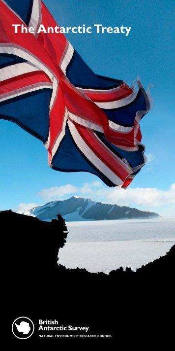 The Antarctic Treaty - British Antarctic Survey