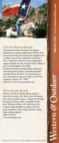 Visitor Guide - Amarillo Convention & Visitor Council - Page 3