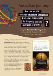 Australian Journeys - National Museum of Australia
