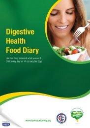 Digestive Health Food Diary - WGO Foundation