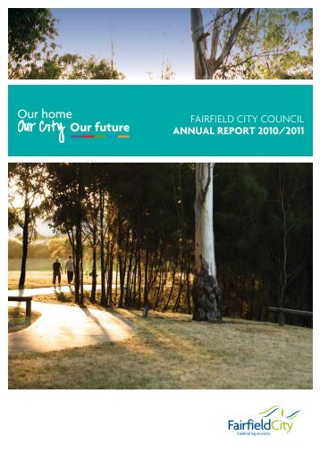 FAIRFIELD CITY COUNCIL ANNUAL REPORT 2010/2011