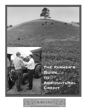 The Farmers' Guide to Agricultural Credit - Colorado State University ...
