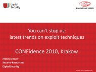 Confidence2010 ROP and JIT-Spray.pdf - Digital Security Research ...