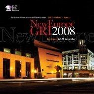 Bucharest 24-25 November - Global Real Estate Institute