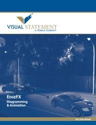 KEY FEATURES - Visual Statement Inc.