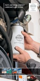 parts and more compact lubricants and filters - Wirtgen GmbH