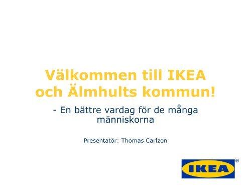 Thomas Carlzon, IKEA