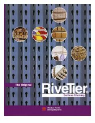 RiveTier Boltless Shelving - Western Pacific Storage Solutions