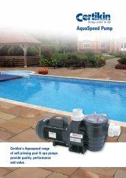 Aquaspeed Pump Brochure - 1st Direct