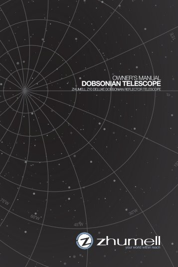 Owner's manual dobsonian telescope - telescopes and - Akadem.us