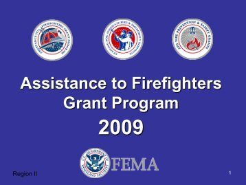 Assistance to Firefighters Grant Program - Congresswoman Carolyn ...