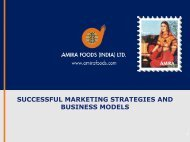 Successful Marketing Strategies And Business Models