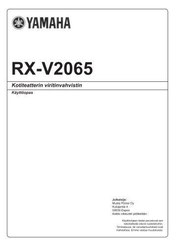 RX-V2065 - Yamaha