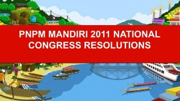 pnpm mandiri 2011 national congress resolutions - psflibrary.org