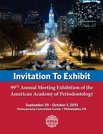 2013 Annual Meeting Exhibitor Prospectus - American Academy of ...