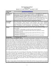1 Quarterly Progress Report PNPM Peduli Quarter 4, CY 2011 ...
