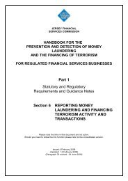 Reporting money laundering and terrorist financing activity