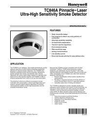tc846a pinnacle laser ultra-high sensitivity smoke detector