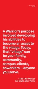 Tipi of Courage – brochure - Canadian Red Cross - Page 2