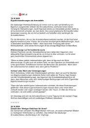 3 Beitrage ORF-Salzburg Radio (Text) - Salzburger Armutskonferenz