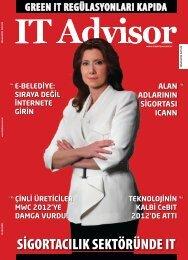 Nisan 2012, Sayı 29 - IT Advisor