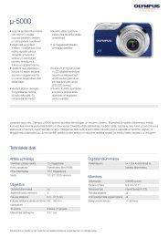 µ-5000, Olympus, Compact Cameras