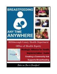 Breastfeeding Implementation Guide - Hillsborough County Health ...