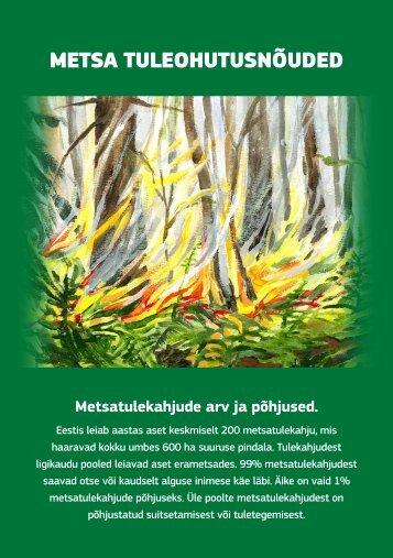 Metsa tuleohutusnõuded