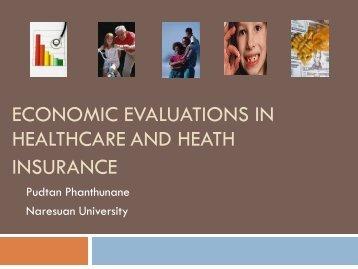 Healthcare and heath เอกสารแทรกงานวิจัย